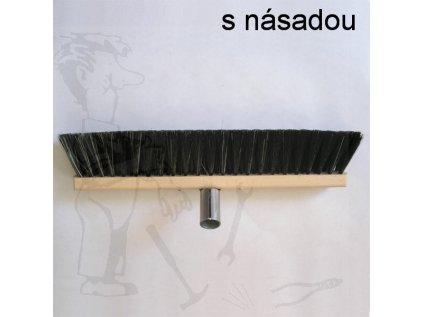 Smeták sálový - PP 100 cm NASAZENÝ