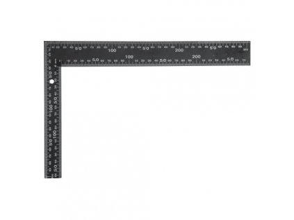 Úhelník tesařský černý 600x400mm