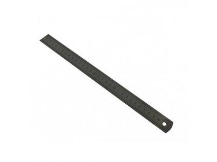 Měřítko ocelové tenké 150x13x0,50 KMITEX
