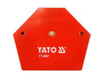 Úhelník magnetický ke svařování 11,5 kg YATO