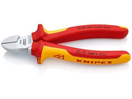 Kleště štípací boční 160 VDE KNIPEX