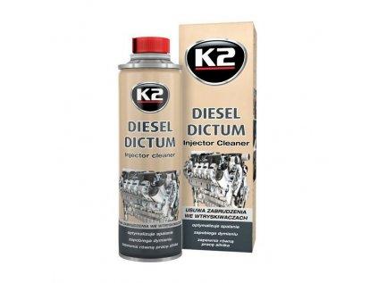 K2 DIESEL DICTUM 500ml - čistič vstřikovacího systému