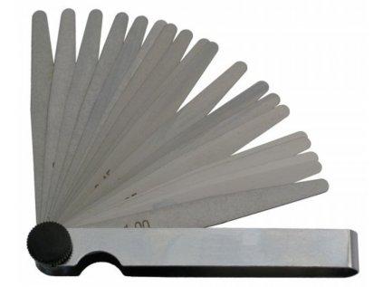 Měrka ventilová 0,05-1/100mm - sada KINEX