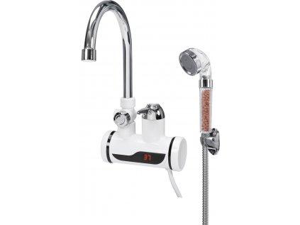 Baterie nástěnná s ohřevem vody a sprchou KATLA-4 3kW