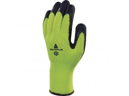 DeltaPlus VV735 APOLLON bezp. rukavice žlutá zateplená