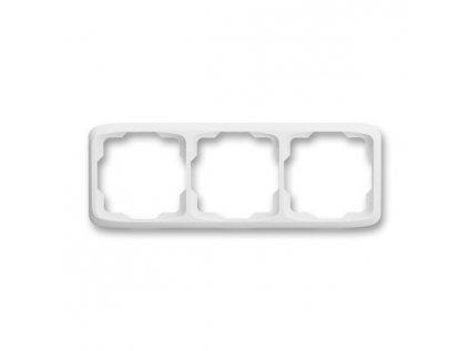 ABB Tango 3901A-B30 B rámeček trojnásobný, vodorovný, bílá