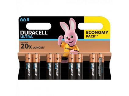 Duracell Ultra AA 1500 K8