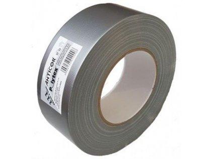 Anticor 111/48mm x 25m POLYTEX páska s vláknem stříbrná