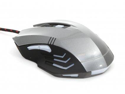 Omega VARR mouse HERNÍ OM0267 šedá