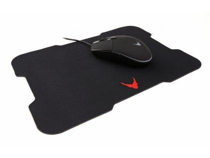 Omega VARR mouse HERNÍ s podložkou VSETMPX5