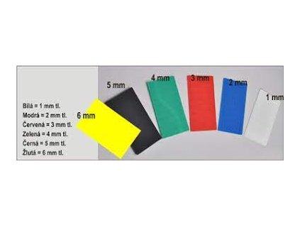 Vymezovací podložka 1mm 24x100