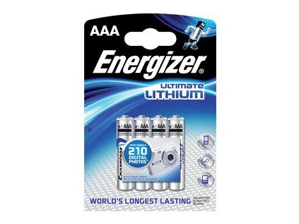 Baterie AAA Energizer Lithium Ultimate blistr/