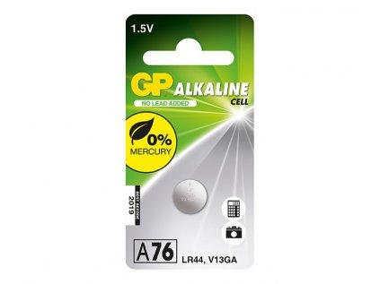 Baterie GP A76/LR 44 1,5 V 1ks