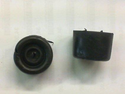 Zarážka dveřní gumová 35/27mm