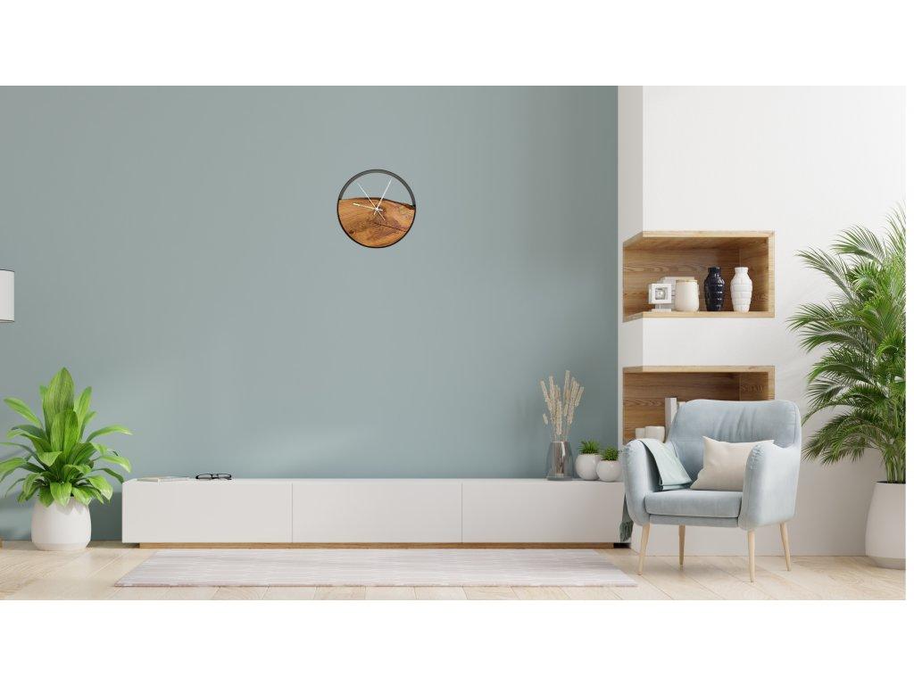 plum clock interior