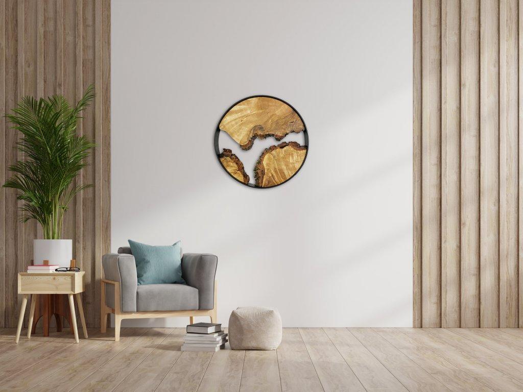 2021 wallart large birch interior