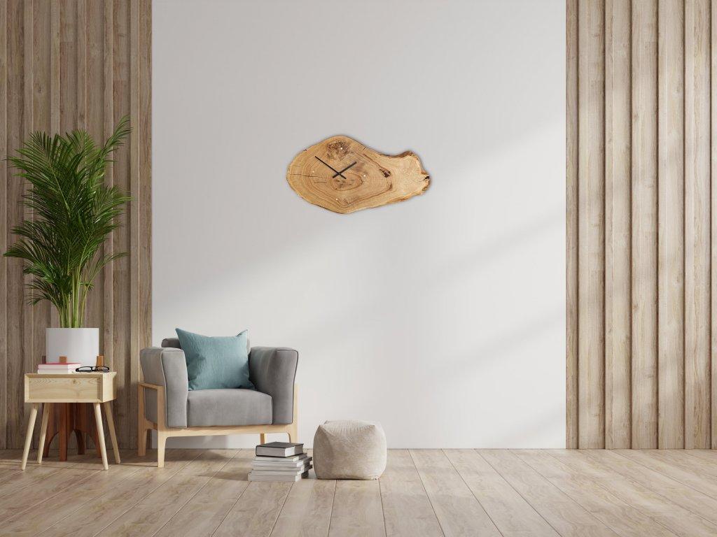 2021 oval clock interior