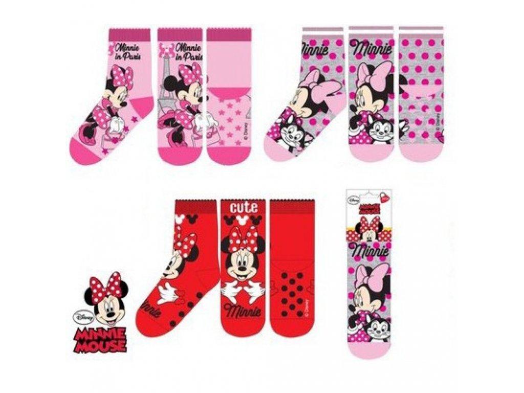 Sun City Minnie Mouse ponožky