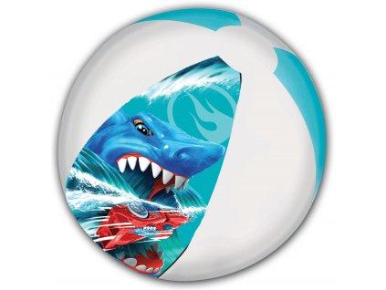 hot wheels strandbal jongens 45 cm blauw wit 895701 1620116231