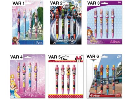 Creativ' World Disney Propisky set 4ks