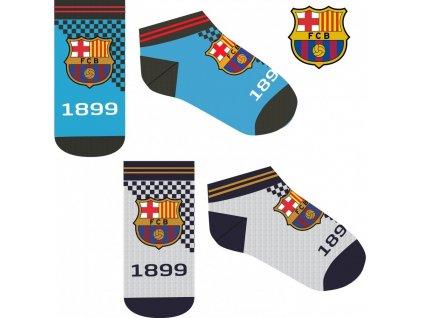 fcb le fc barcelone chaussettes secretes enfants 23 34