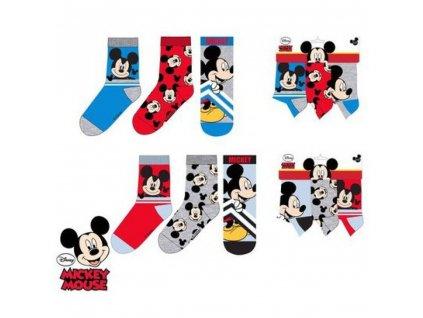 Sun City Mickey Mouse ponožky 3ks