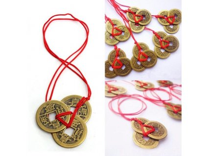 Chinese Good Luck Coins Wealth Success Fortune Copper Coin Three Emperors Pendants Birthday Gift Auspicious Amulet.jpg Q90