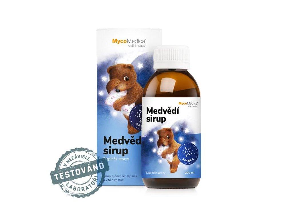 MycoMedica -  Medvědí sirup, 200 ml