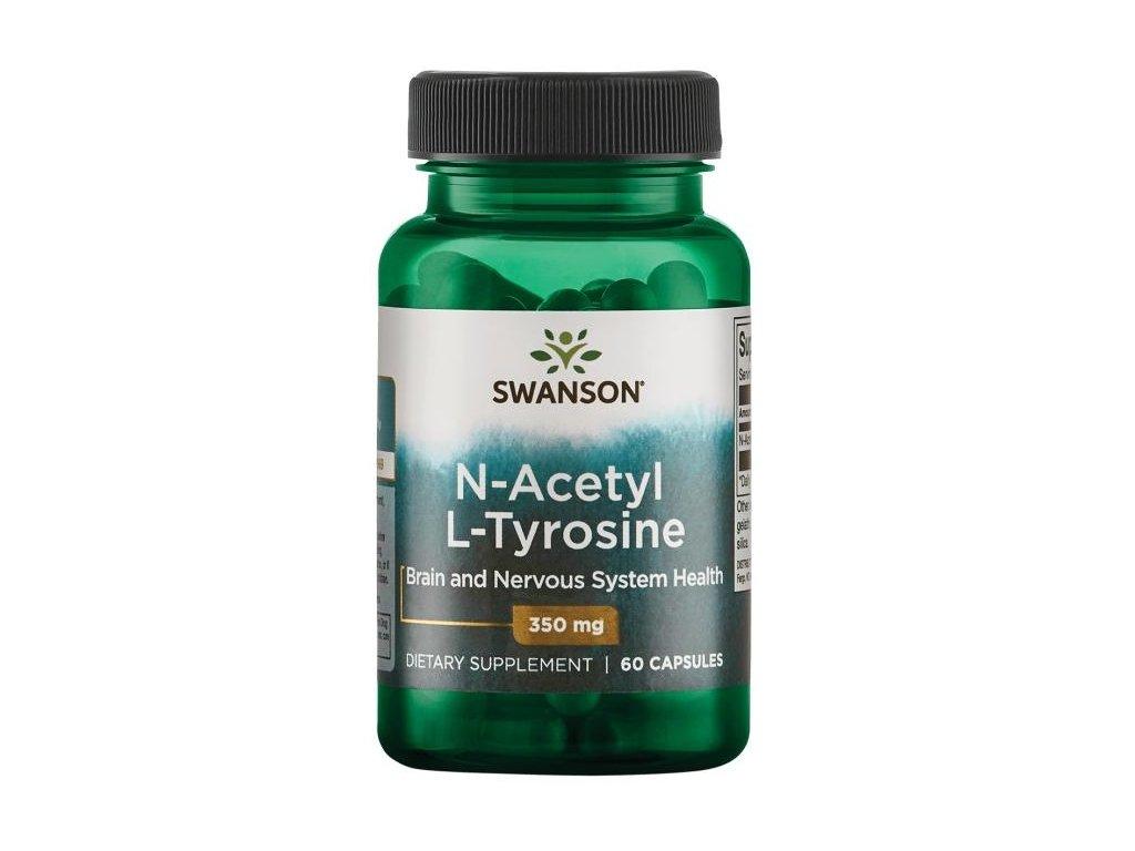 Swanson N-Acetyl L-Tyrosine, 350 mg, 60 kapslí