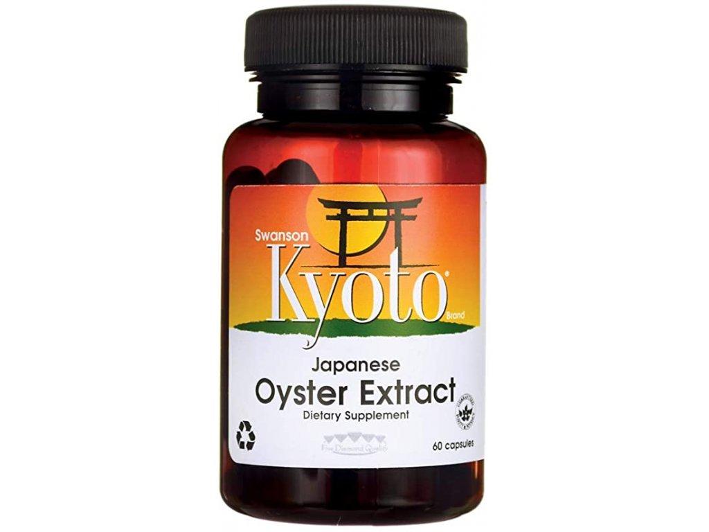 Swanson Oyster Extract (extrakt z ústřice), 100% přírodní, 500 mg, 60 kapslí