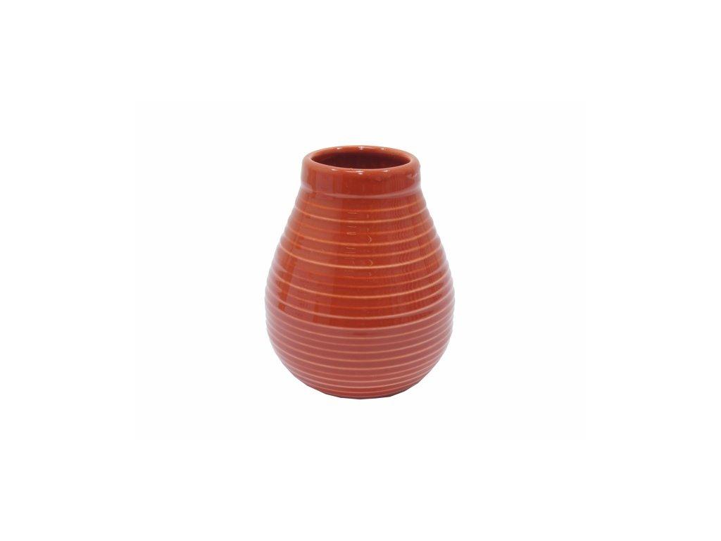 keramicka kalabasa standard yerba mate cervena 350ml original