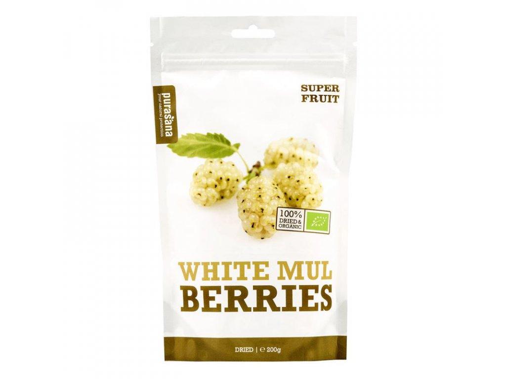 white mulberries bio 200 g