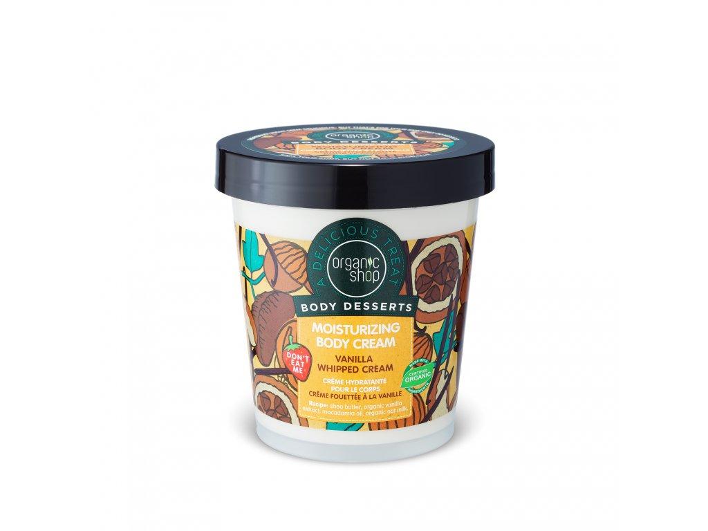 Organic shop Tělový krém Vanilka a bambucké máslo