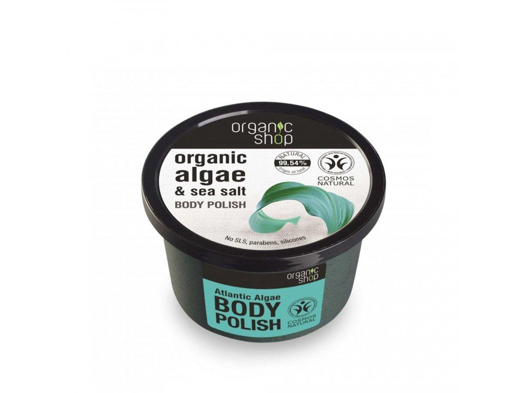 Organic shop Tělový peeling Atlantické řasy