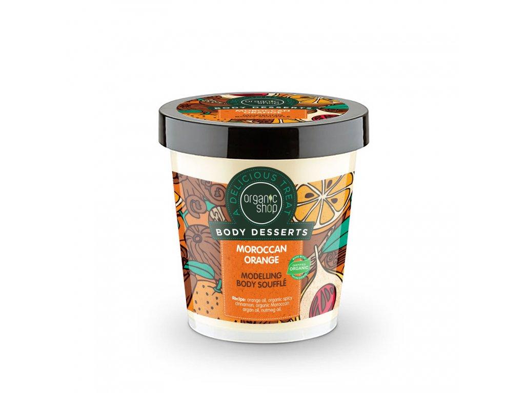 Organic shop Tělový krém Marocký pomeranč