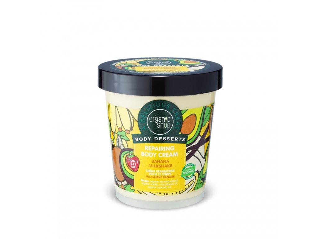 Organic shop Obnovující tělový krém Banán