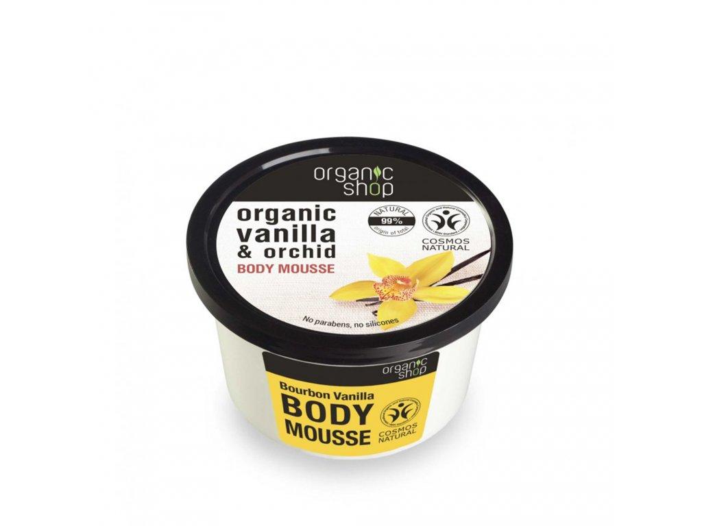 Organic shop Tělová pěna Burbonská vanilka