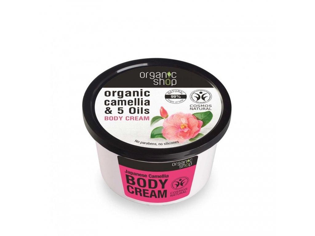 Organic shop Tělový krém Japonská kamélie
