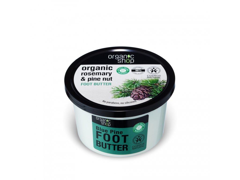 Organic shop Máslo na nohy Rozmarýn a borovice