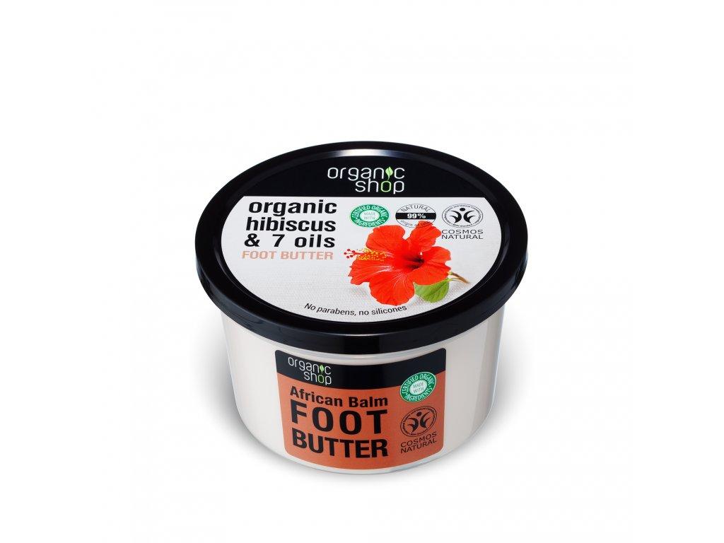 Organic shop Máslo na nohy Ibišek a 7 olejů