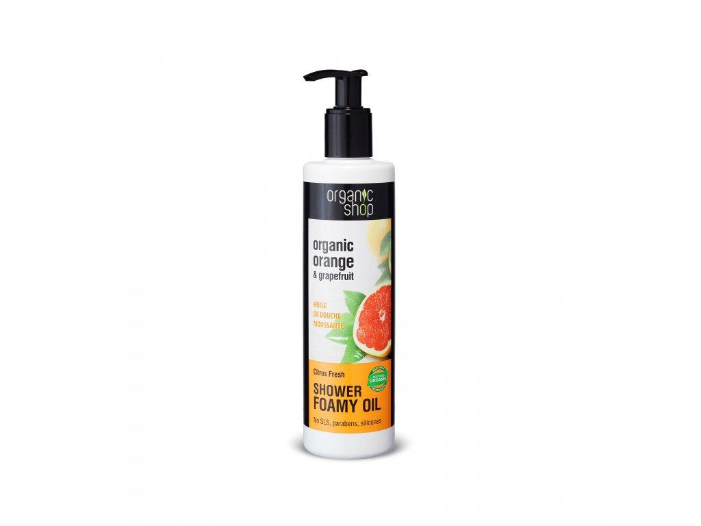 Organic shop Sprchový olej Citrusová svěžest