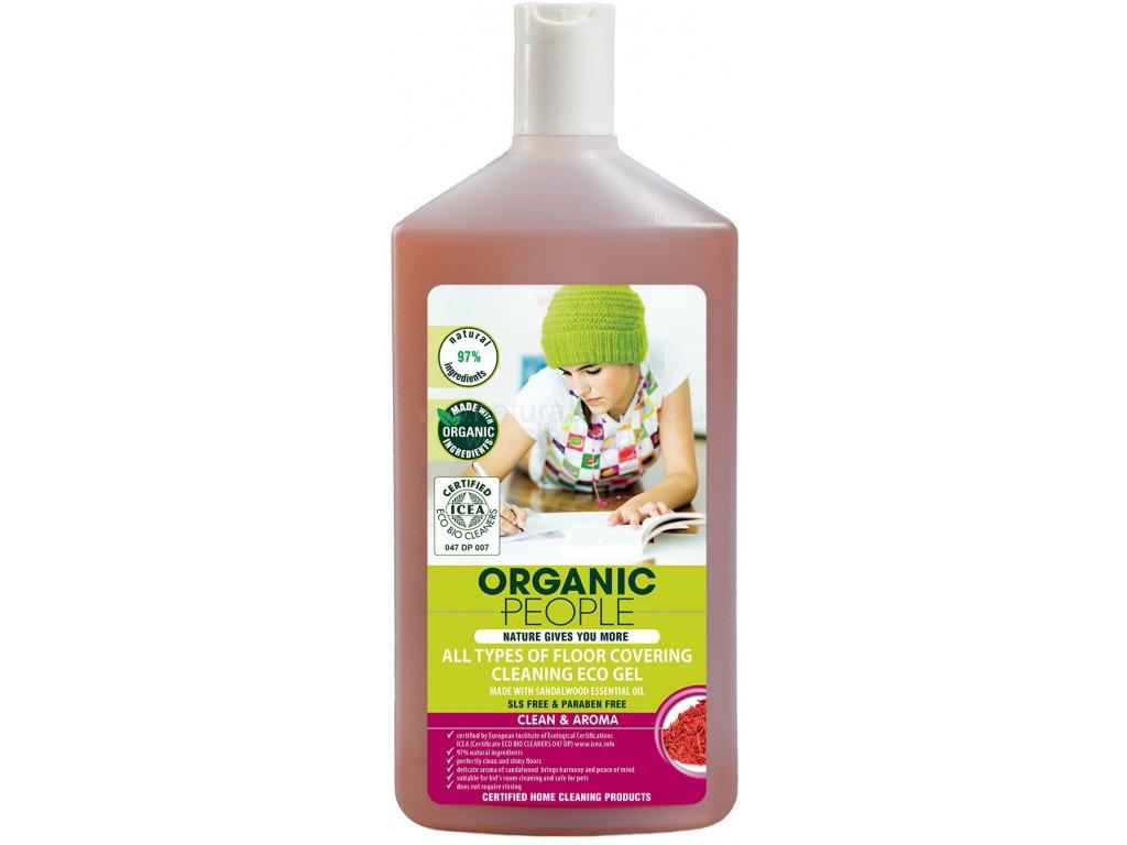 Organic People Tělový peeling Sladké mandle, 250 ml