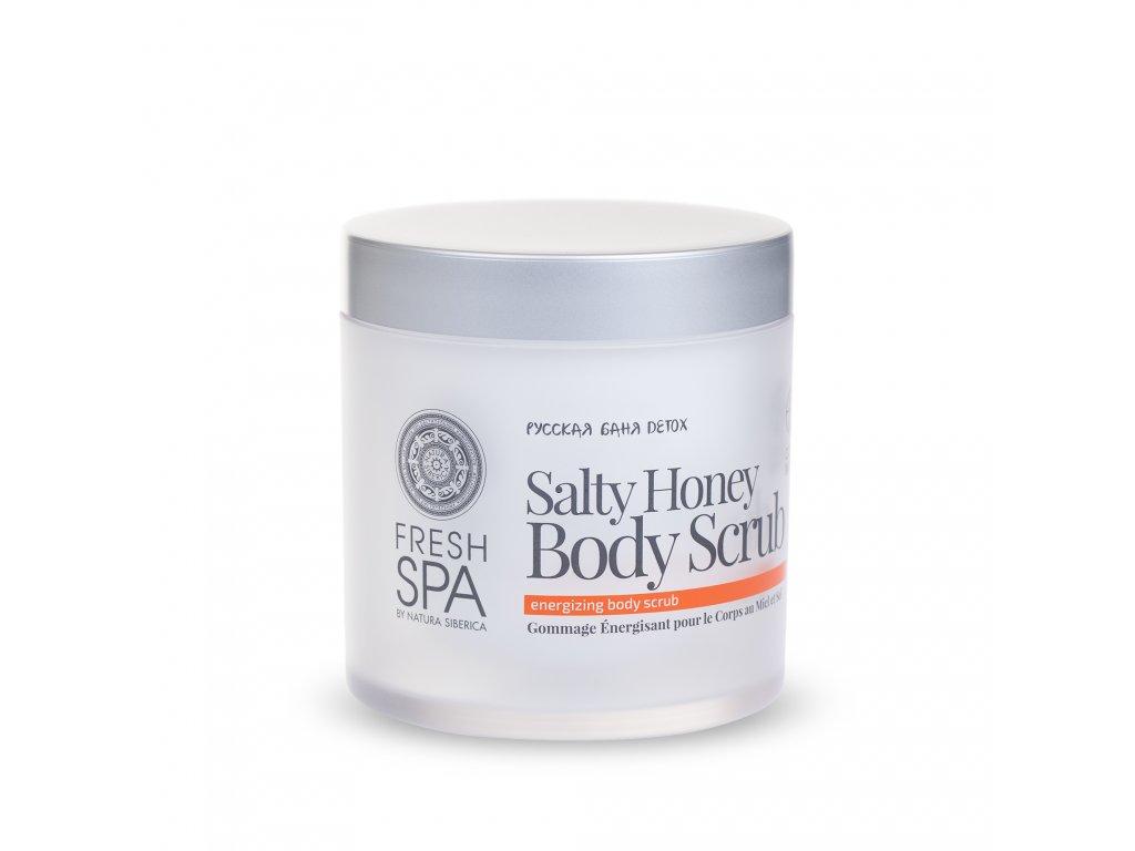 Fresh Spa Bania Detox Povzbuzující tělový peeling, 400ml