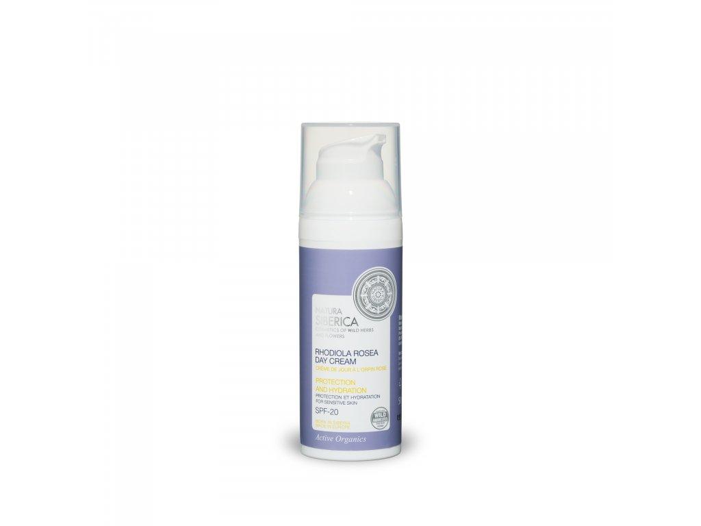 Rhodiola Rosea Denní hydratační krém pro citlivou pleť Rozchodnice růžová, 50 ml