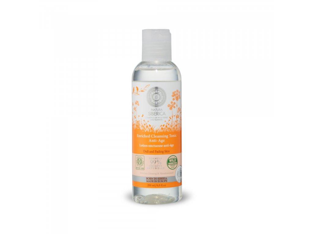 Natural & Organic Čistící tonikum pro unavenou a zralou pleť, 200 ml