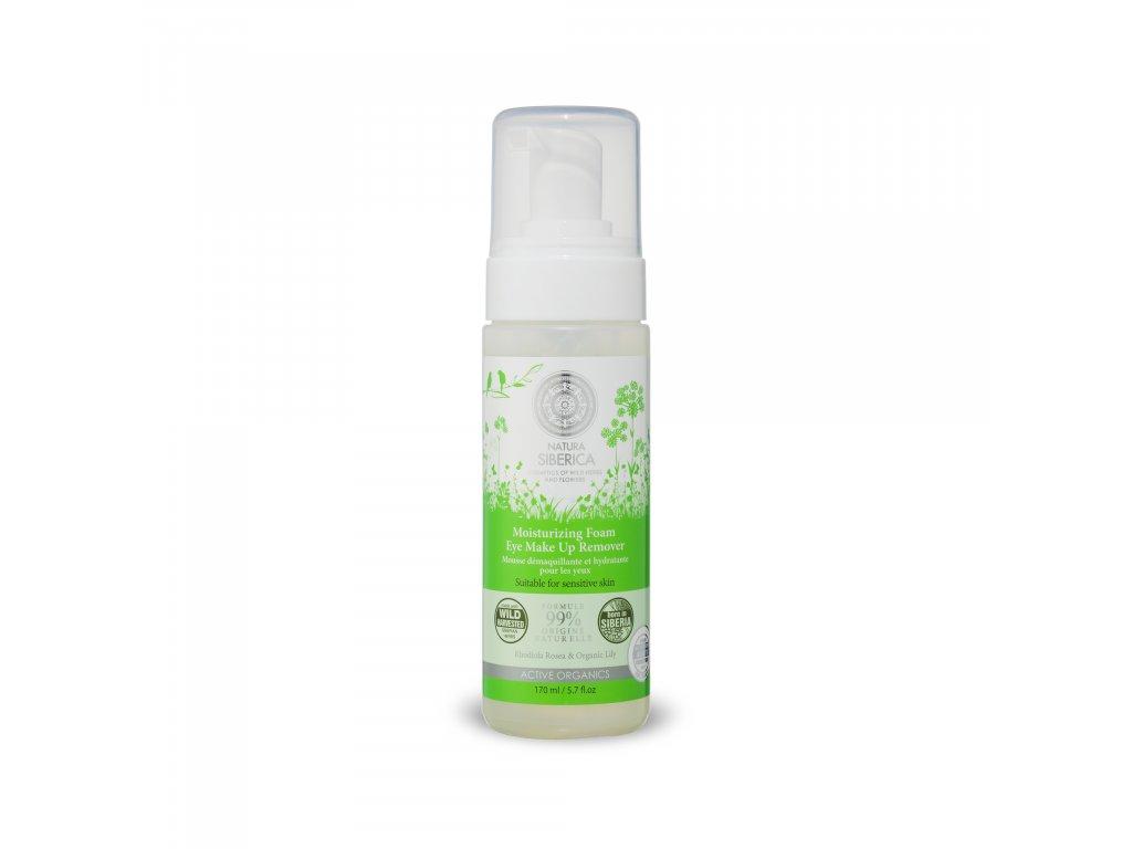 Natural & Organic Pěna pro odlíčení očního okolí pro citlivou pleť, 170 ml