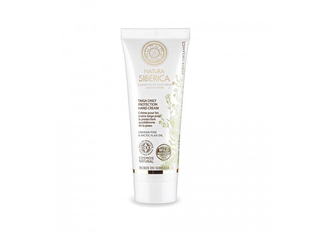 Natural & Organic Denní ochranný krém na ruce z tajgy