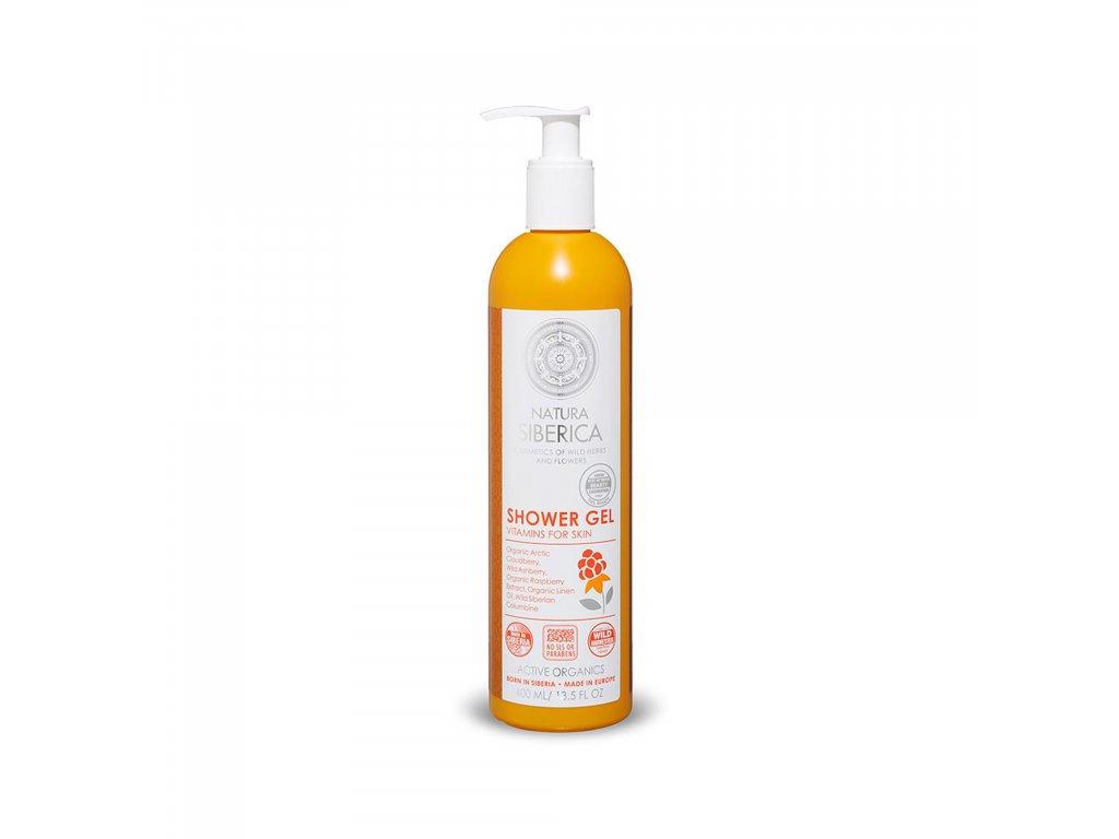 Natura Siberica Sprchový vitamínový gel, 400 ml