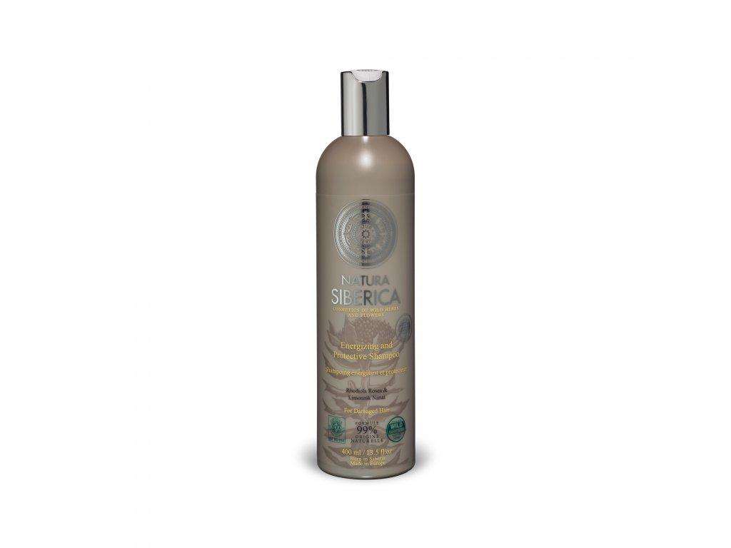 Rhodolia Rosea Energizující šampon pro poškozené vlasy