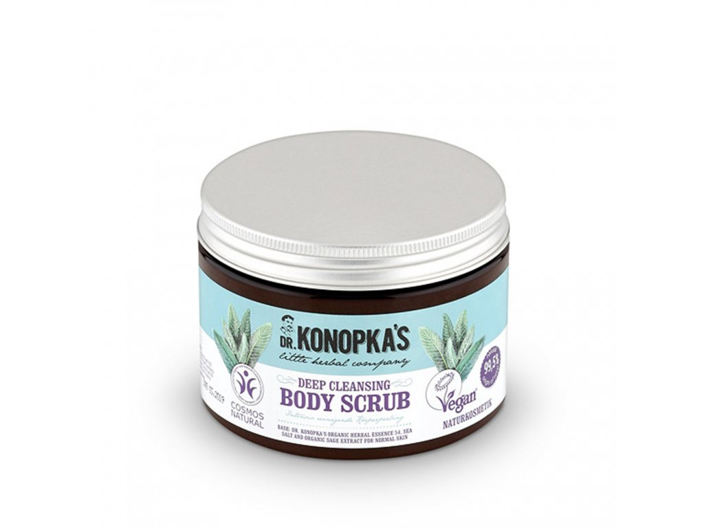 Dr. Konopka's Hloubkově čistící peeling na tělo